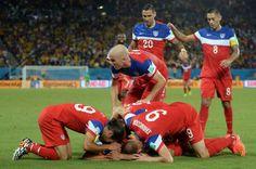 USA! USA! USA!  U.S. gets revenge on Ghana, which eliminated #USMNT from last 2 World Cups.
