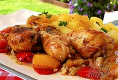 Finger Foods, Chicken Wings, Turkey, Treats, Dinner, Cooking, Club, Fine Dining, Red Peppers
