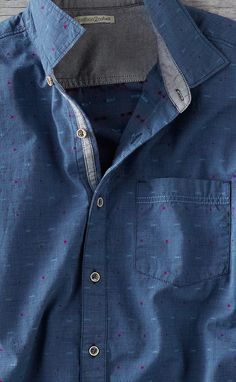 Upgrade your casual wear with jackets, shirts, sweaters, shoes & more that are effortlessly cool & always comfortable. Casual Wear For Men, Casual Shirts For Men, Zara Man Shirts, Men Shirts, Mens Designer Shirts, Moda Casual, Shirt Refashion, Men Style Tips, Mode Style