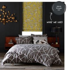 Image result for Benjamin Moore's wrought iron gray living room