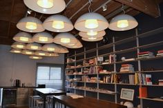 the library in the Karten Design office