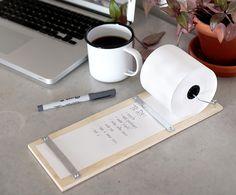 Neue DIY Idee. Der perfekte Notizblock für dein Schreibtisch oder für die Wand. #office #diy