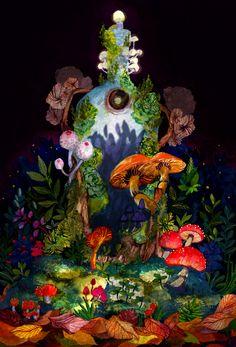 The Illustration Portfolio of Malisa Suchanya