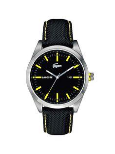 Adquiere aqui Reloj #lacoste ... Visítanos en www.clickonero.com.mx...... ... Un accesorio es el complemento perfecto para cualquier outfit #moda #fashion #hombre #noche #accesorio #reloj