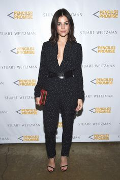 Julia Restoin Roitfeld at the Suart Weitzman & Pencils Of Promise launch event.