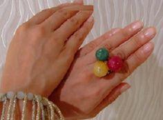 Daniela 3 rings like a candy