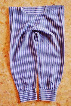 Детские брючки из рубашки (Diy) / Для детей / Своими руками - выкройки, переделка одежды, декор интерьера своими руками - от ВТОРАЯ УЛИЦА