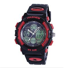 Silicone strap Sports Watch LED Analog Digital Waterproof Alarm --sports for Men and Women * You can get additional details at http://www.buyoutdoorgadgets.com/silicone-strap-sports-watch-led-analog-digital-waterproof-alarm-sports-for-men-and-women-45/?ef=230616045830