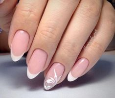 Want some ideas for wedding nail polish designs? This article is a collection of our favorite nail polish designs for your special day. Wedding Nail Polish, Wedding Nails, Nail Polish Designs, Nail Art Designs, Cute Nails, Pretty Nails, Nagellack Design, Classic Nails, Bridal Nails