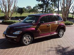 "2003 ""Woody""-PT Cruiser-deep cranberry !!"