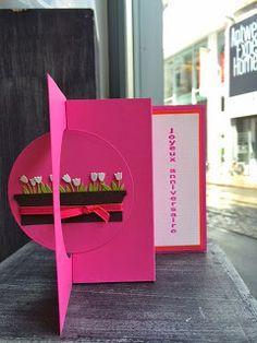 elke's blog: fleurige verjaardagskaart
