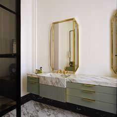 Design, inspiration, and DIY ideas for remodeling your bathroom on a budget. Awesome DIY home projects, inspiration for your home, and cheap remodeling ideas for your bathroom. Art Deco Bathroom, Bathroom Colors, Small Bathroom, Bathroom Ideas, Colorful Bathroom, Eclectic Bathroom, Bathroom Hacks, Bathroom Goals, Bathroom Trends