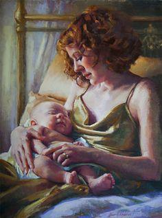 pastel portrait painting demo
