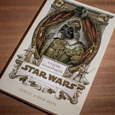 Shakespeare meets Star Wars. Firebox is the UK's best equivalent to US site Think Geek. Both are awesome places to shop, but if you order from ThinkGeek to the UK beware of extra UK customs charges, they sting.