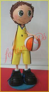 Fofucho jugador de baloncesto