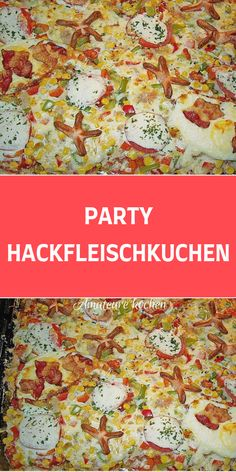 Partys, Dory, Tiramisu, Party Time, Main Dishes, Sandwiches, Food And Drink, Pizza, Low Carb