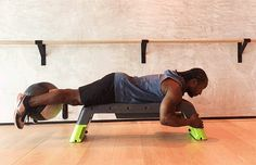 6 Slam Ball Exercises for Stronger Legs and Glutes: Hamstring Curls Exercise