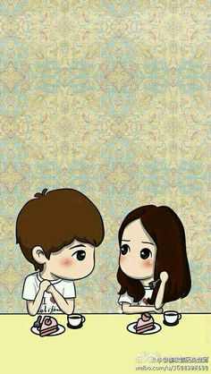 The heirs 💖 Love Cartoon Couple, Cute Love Cartoons, Anime Love Couple, Cute Anime Couples, Heirs Korean Drama, Korean Drama Movies, The Heirs, Korean Dramas, Korean Anime