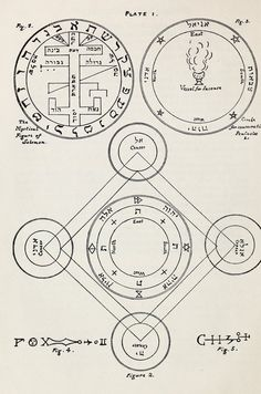 The greater Key of Solomon : including a clear and precise exposition of King Solomon's secret procedure, its mysteries and magic rites : original plates, seals, charms and talismans : translated from the ancient manuscripts in the British Museum, London Alchemy Symbols, Magic Symbols, Book Of Solomon, King Solomon Seals, Sacred Geometry Symbols, Sigil Magic, Solomons Seal, Occult Art, Occult Tattoo