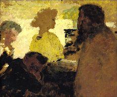 Edouard Vuillard (1868-1940) Au piano