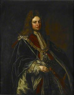 Robert Harley (1661–1724), 1st Earl of Oxford and Mortimer. Date painted: 1711–1714. Collection:  British Museum. 'He seems to have kept everything from cabinet minutes to his claret bills' was the comment in the 'Oxford Dictionary of National Biography' on the collection of personal papers amassed by this immensely influential politician With the assistance of his librarian Humfrey Wanley he built up a collection of some 6k volumes of manuscripts, 14.5k charters and rolls & over 3k books.