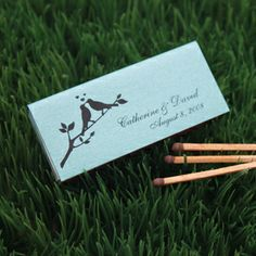 Personalized Wedding Match Box Favors Custom Matchbox Pinterest Matches And