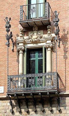 Barcelona.Szép erkély.