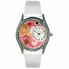 Whimsical Watches Women's S1010009 Angel Mom White Leather Watch Whimsical Watches. $45.32