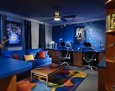 If you are passionate about game, it's time to remodel your regular room into a video game room. Check out these amazing video game room ideas! Star Wars Room Decor, Star Wars Bedroom, Game Room Decor, Room Decorations, Room Setup, Star Wars Zimmer, Cool Dorm Rooms, Kids Rooms, Boy Rooms