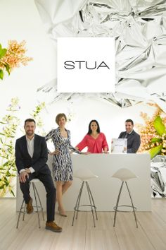 Thank you so much for bringing such good energy to the STUA stand in Milano. It has been a great year. Right to left Asier Zabalo, Raquel Diez, Elen Gasca, Jon Gasca