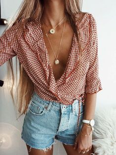 Jeans Sommer  Cool Bluse
