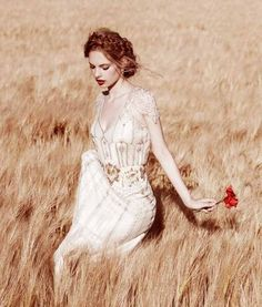 I want to run through a field in a stunning gown!!!