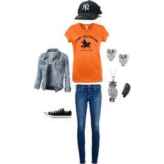 """""""Annabeth Chase"""" by Rebecca morrison on Polyvored momma I need this outfit all of it"""
