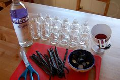 supplies to make vanilla extract