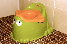Article on potty training tips! Potty training early, the cold turkey way. A definite must read!