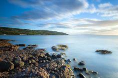 Cushendun Bay in County Antrim, Ireland.