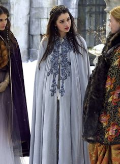 If only it was socially acceptable to wear cloaks now!  I'm just past the halfway mark in season 1 of this amazing show.   #Reign