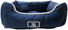 Pets First MLB New York Yankees Pet Bed * Visit the image link more details. (This is an affiliate link) New York Yankees, Doge, Pet Supplies, Mlb, Fans, Image Link, Awesome, Fitness, Check
