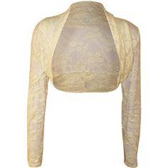 Katharine Lace Long Sleeve Shrug | Womens Shrugs | WearAll
