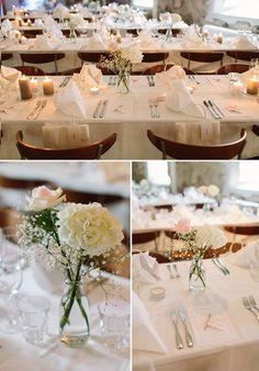 romanttinen pöytäkoristelu