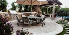 Cement Patio Ideas find this pin and more on outdoors sanctuary brick edging around concrete patio Concrete Patio Pavers