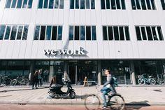 WeWork campus in Amsterdam
