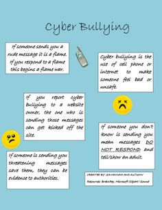 How to help stop cyber bullying as a victim
