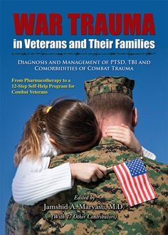 """War trauma in veterans and their families: diagnosis and management of PTSD, TBI, and comorbidities of combat trauma: from pharmacotherapy to a 12-step self-help program for combat veterans"" RC550 .W367 2012"