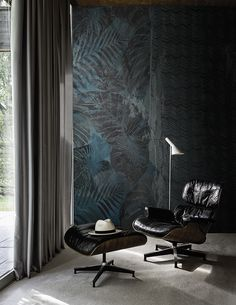 Lurk www.wallanddeco.com #wallpaper, #wallcovering, #cartedaparati