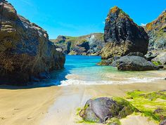 Kynance Cove Poster by Gary Walker