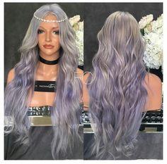 Fashion Now, Fashion Beauty, Hairstyle Ideas, Hair Ideas, Wig Styles, Long Hair Styles, Real Wigs, High Maintenance, Hair Laid
