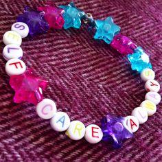 Self Care Always bracelet  TeamWollstonecraft on Etsy!