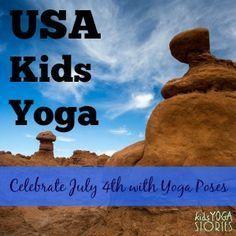 Celebrate Independence Day through Kids Yoga
