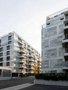 SUBTILITAS Lausanne, Contemporary Classic, Building Facade, Multi Story Building, Mariana, Aphasia, Towers, Facade